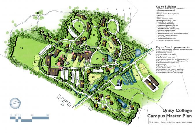 Unity College Master Plan, Unity, Maine